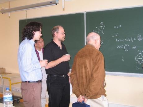 Foto wiskundigen