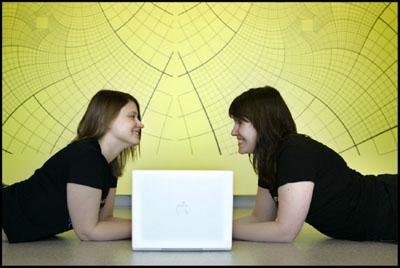 nieuwe foto van de wiskundemeisjes