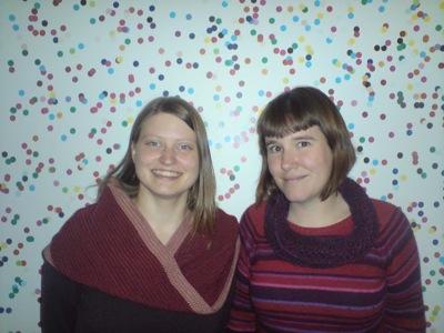 Wiskundemeisjes met nieuwe sjaals