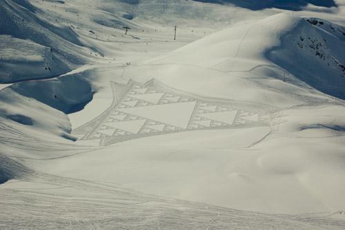 fractalindesneeuw